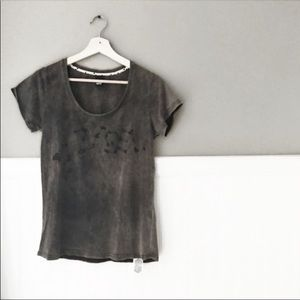 ASOS Cheap Monday Distressed Billie Graphic Tee